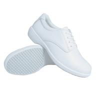 White tie Nursing Shoe - slip resistant